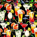 Cocktail Hour In The Tropics by Elaine Plesser