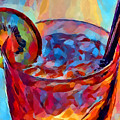 Cocktail Watercolor by Chris Butler
