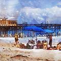 Cocoa Beach Pier by Francesa Miller