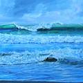 Cocoa Beach Surf by AnnaJo Vahle