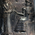 Code Of Hammurabi (detail) by Granger