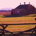 Codori Barn Gettysburg by Eric  Schiabor