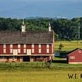 Codori Barn by William Rogers