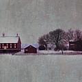 Codori Farm At Gettysburg In The Snow by Bill Cannon