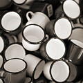 Coffe Cups 2 by Marilyn Hunt