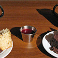 Coffee And Chocolate Cake. Mountain House Inn by Ausra Huntington nee Paulauskaite