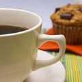 Coffee And Chocolate Muffin by Donald  Erickson