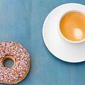 Coffee And Donut by Anastasy Yarmolovich