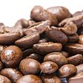 Coffee Beans Closeup by Donald  Erickson
