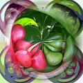 Coffee Beans Sphere by Pamela Walton