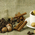 coffee beans Still Life by Noha Fawzy