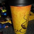 Coffee Cup Series. Yellow And Orange. by Ausra Huntington nee Paulauskaite