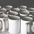 Coffee Cups- By Linda Woods by Linda Woods