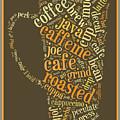 Coffee Lovers Word Cloud by Edward Fielding