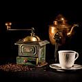Coffee-time by Torbjorn Swenelius