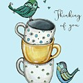 Coffee With The Birds by Elizabeth Robinette Tyndall