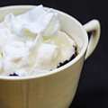 Coffee With Whipped Cream by Donald  Erickson