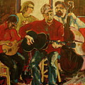 Coffeehouse Combo by Todd  Peterson