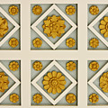 Coffered Ceiling Detail At Getty Villa by Teresa Mucha