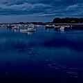 Cohasset Harbor At Dusk by Gene Sizemore