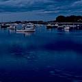 Cohasset Harbor Portrait by Gene Sizemore