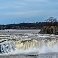 Cohoes Falls New York by George Fredericks