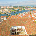 Coimbra Aerial View by Benny Marty