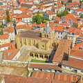 Coimbra Cathedral Aerial by Benny Marty