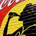 Coke Girl Silhouette  by Tim Leimkuhler
