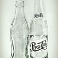 Coke Or Pepsi Black And White by Terry DeLuco