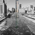 Cold Chicago River by Dylan Punke