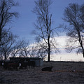 Cold Iowa Evening by Jame Hayes