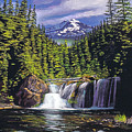 Cold Water Falls by David Lloyd Glover