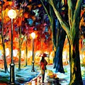 Cold Winter by Leonid Afremov