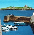 Coliemore Harbour, Dalkey by Tony Gunning