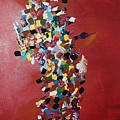 Collage Of Color by Maria Isabel Storniolo