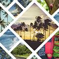 Collage Of Hawaii  by Mariusz Prusaczyk