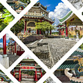 Collage Of Taoist Temple In Cebu, Philippines. by Mariusz Prusaczyk