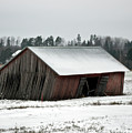 Collapsing Barn by Jarmo Honkanen