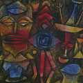 Collection Of Figurines By Paul Klee 1926 by Paul Klee