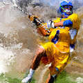 College Lacrosse Shot by Scott Melby