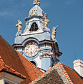 Collegiate Church Tower by Bob Phillips