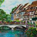Colmar In Full Bloom by Charlotte Blanchard