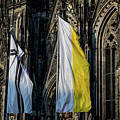 Cologne Cathedral Flags by Ross Henton