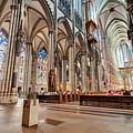 Cologne Cathedral Interior by Pramio garson Sembiring