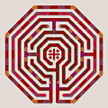 Cologne - Red Earth by Fine Art Labyrinths