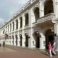 Colombia Courtyard by Brett Winn