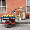 Colombia Fruit Cart by Brett Winn