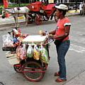 Colombia Srteet Cart by Brett Winn
