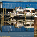 Colonial Beach Marina by Clayton Bruster